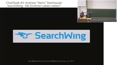 "ChaOStalk #3 - #SearchWing - Andreas ""Steini"" Steinhauser"