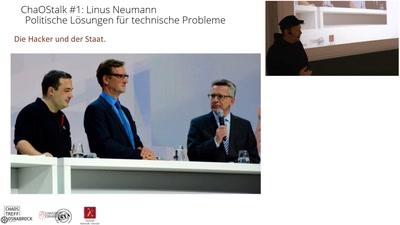 ChaOStalk #1: Linus Neumann