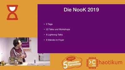 TVLuke über NooK 2019 Infrastructure Review [Fünf-Minuten-Termine]