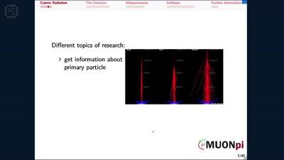 MuonPi – Community-basierte verteilte Messung kosmischer Strahlung [Freitalk N8]