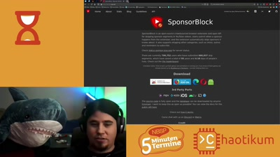 Toxicity über SponsorBlock [Fünf-Minuten-Termine – Home Edition]